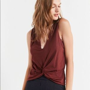 Truly Madly Deeply Tommie Keyhole Knot Tank Top